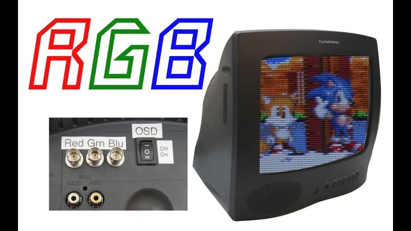Add RGB input to Consumer TVs | Make Arcade Monitors on the Cheap!