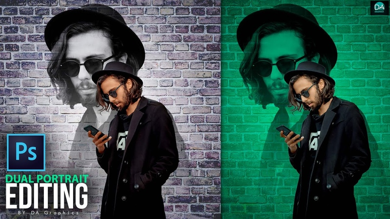 DUAL PORTRAIT EDITING PHOTOSHOP CREATE YOUR OWN WALL EFFECT IN PHOTOSHOP PHOTOSHOP TUTORIAL