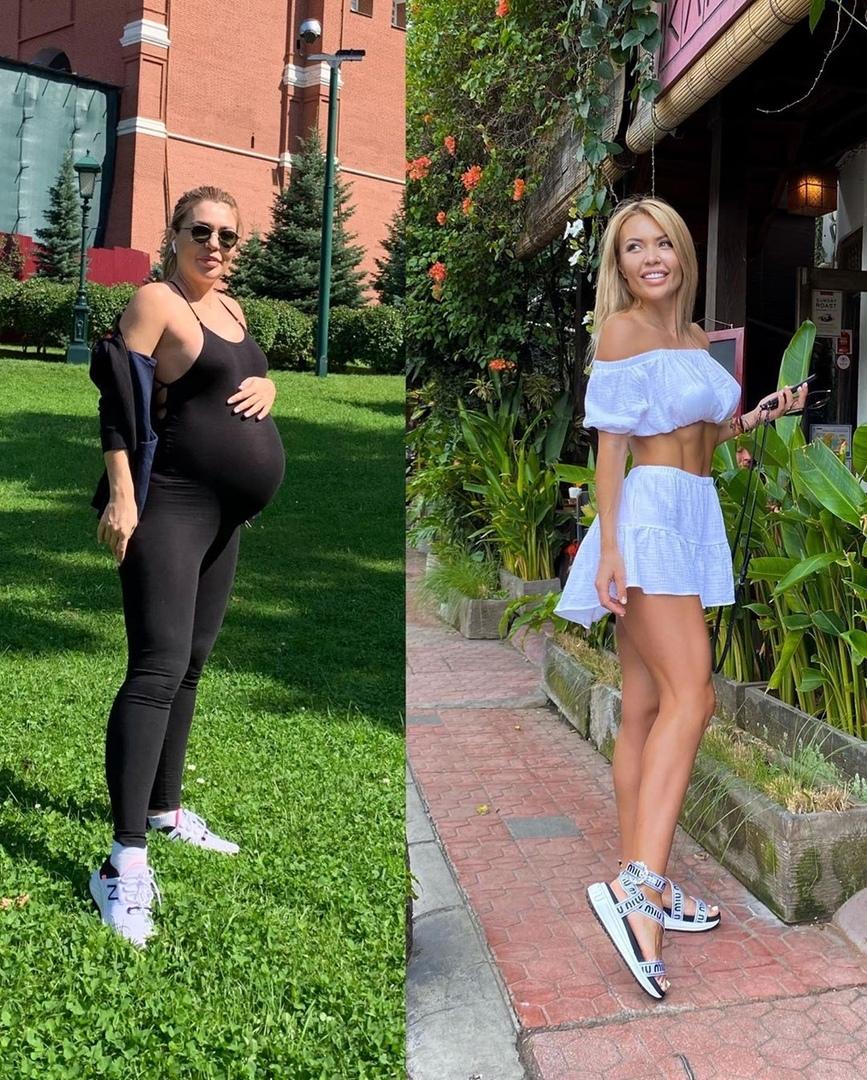 Екатерина Усманова вернулась в идеальную форму после беременности