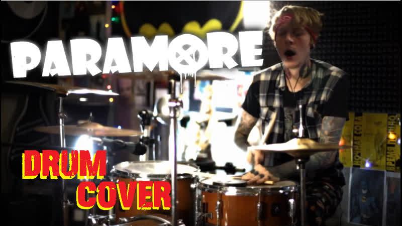 Paramore Misery Business DRUM COVER Shaytanov