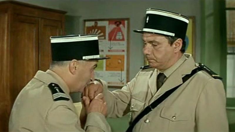 Coup de foudre entre Josépha et Cruchot Le gendarme se marie Louis de Funès