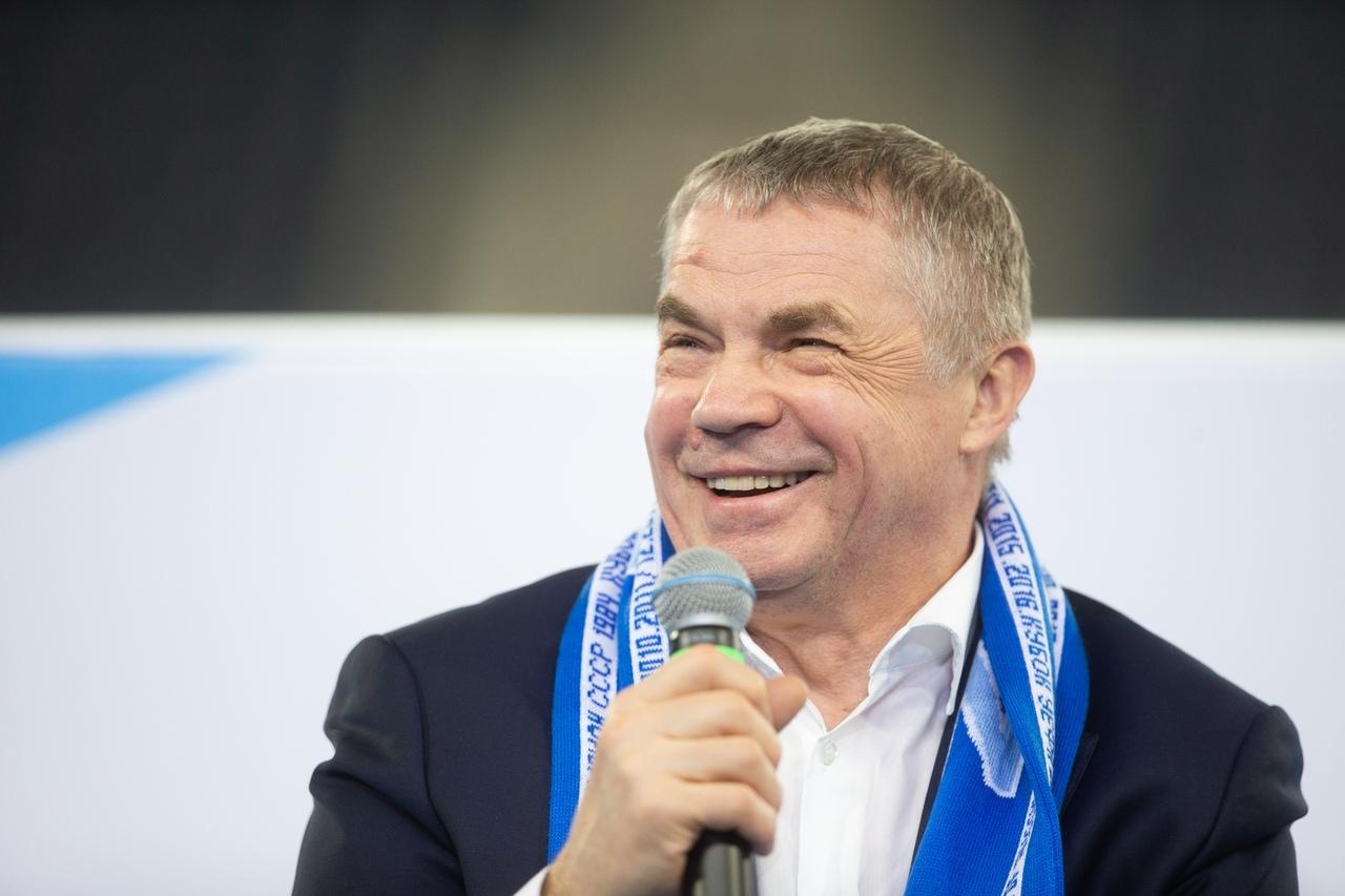 Президент Зенита Александр Медведев