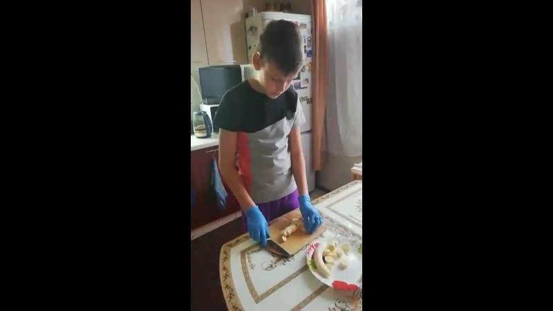 Гражданов Артём (5Д), английский десерт «Баноффи»