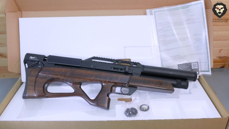 Пневматическая винтовка EDgun Матадор R5M 6 35 мм 476 мм орех буллпап видео обзор 4k