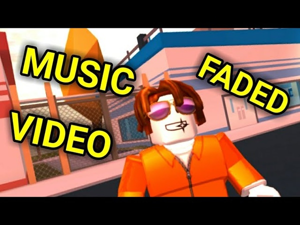 Faded Alan Walker Roblox Jailbreak Music Video