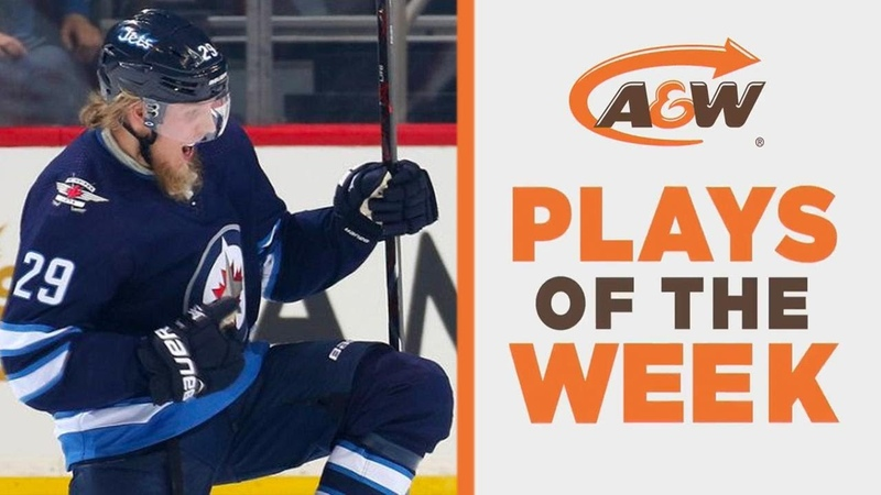 NHL Plays of the Week Laine makes pilons out of Wings D