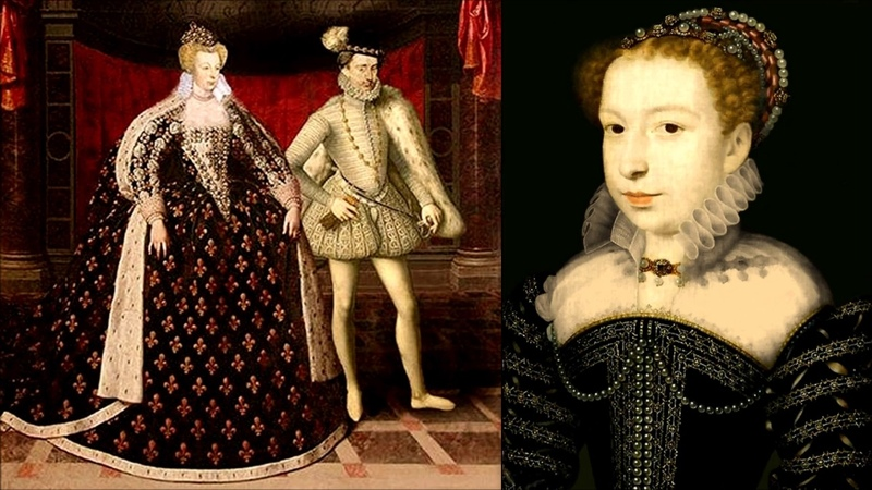 Маргарита де Валуа королева Франции и Наварры Королева Марго Жемчужина Франции