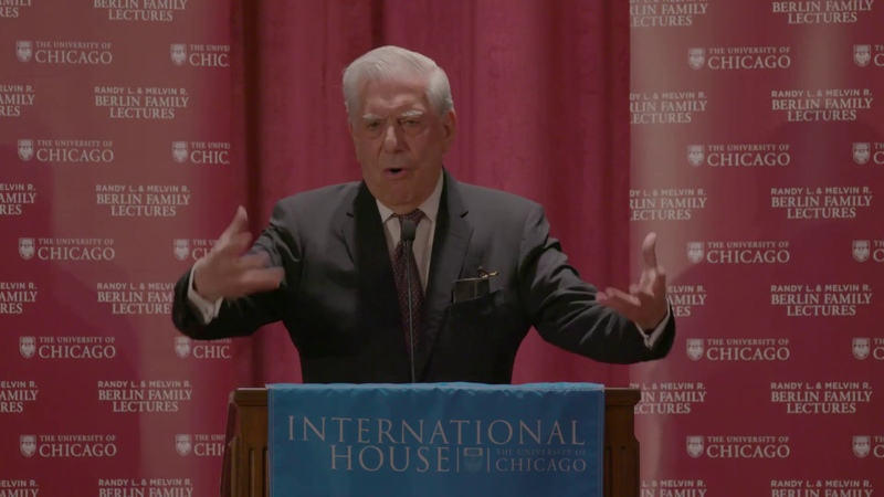 Mario Vargas Llosa, The War of the End of the World, Lecture 3 of 4, 05.08.17