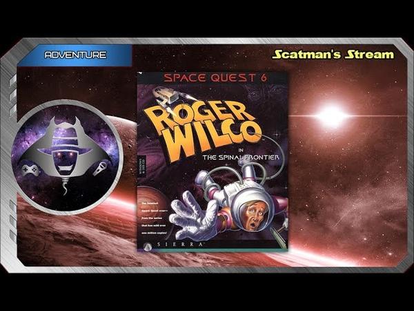 21 июля Space Quest 6 Roger Wilco in the Spinal Frontier часть 1