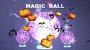Novelty Glass Magic Plasma Ball Light 3 4 5 6 inch Table Lights Sphere Nightlight Kids Gift