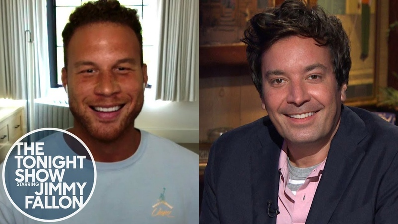 Blake Griffin Says Adam Sandler Is the Best Comedian Basketball Player