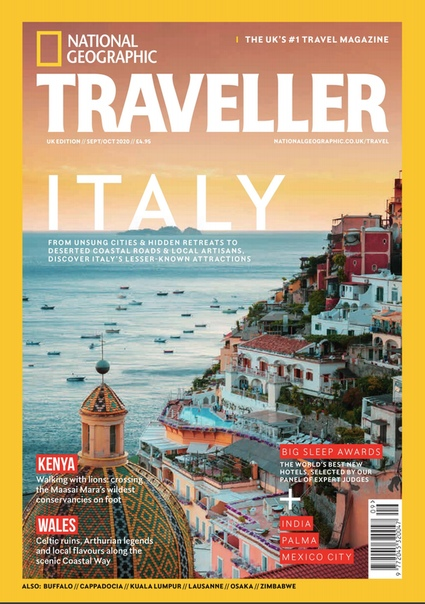 National Geographic Traveller UK. September- October 2020