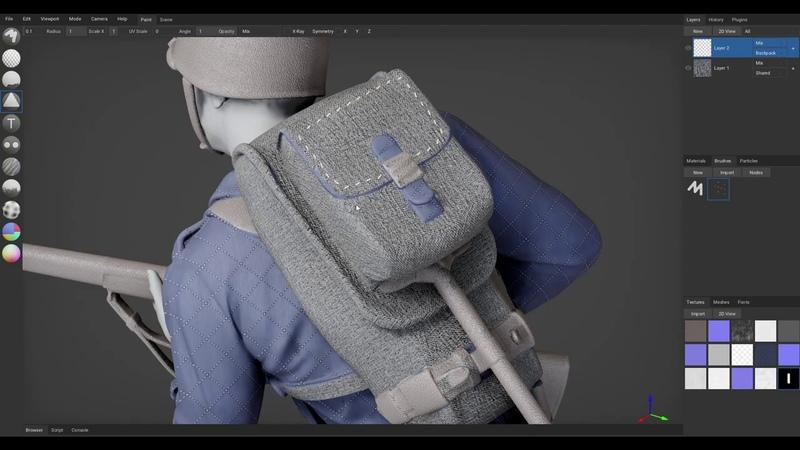 Directional Brush ArmorPaint