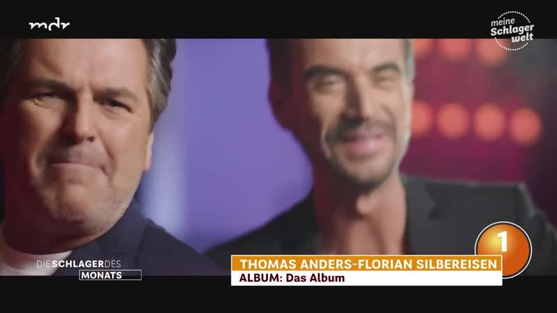 Platz 1 Florian Silbereisen und Thomas Anders Das Album Versuchs noch mal mit mir