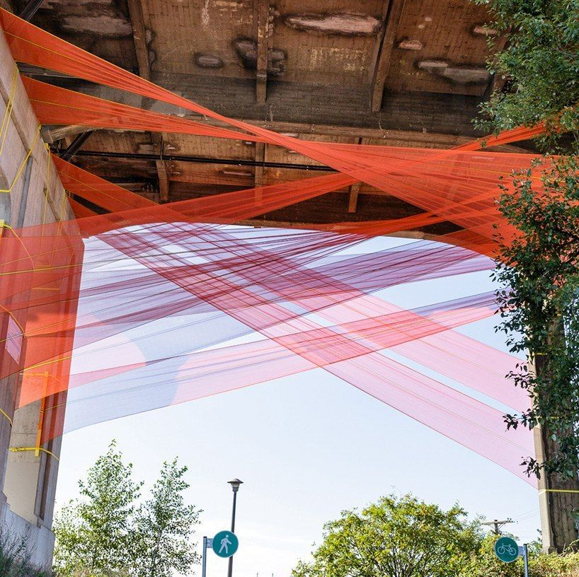 rebecca bayer and matthew soules present their collaborative project 'city fabric'