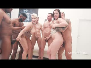 Angel Wicky Sofia Lee assfucked together [DP,Anal,Double pussy DPP,A2M,Gape, Big Tits, Interracial, Anal Creampie, Big Ass Butt]