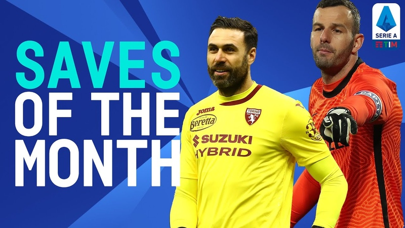 Handanović, Sirigu, Drągowski and more! | Saves of the Month | January 2021 | Serie A TIM