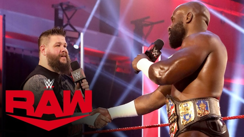Apollo Crews gives Kevin Owens a U S Title opportunity Raw June 1 2020