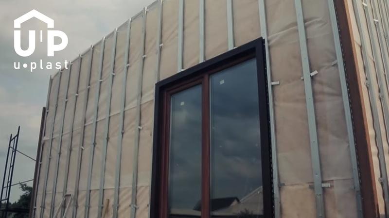Обрамление окна сайдингом Обход окна Реальный опыт