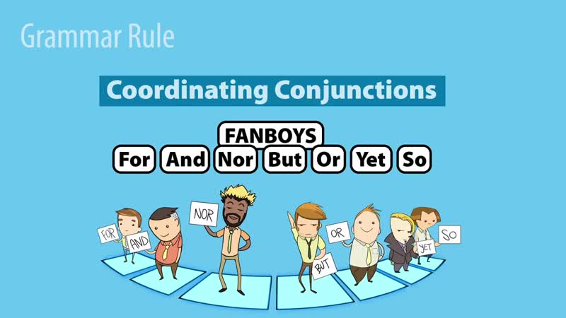 FANBOYS Coordinating Conjunctions