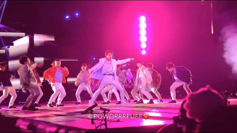 190504 - Trivia 起 Just Dance - BTS 방탄소년단 - Speak Yourself Tour - Rose Bowl - HD Fancam - 직캠