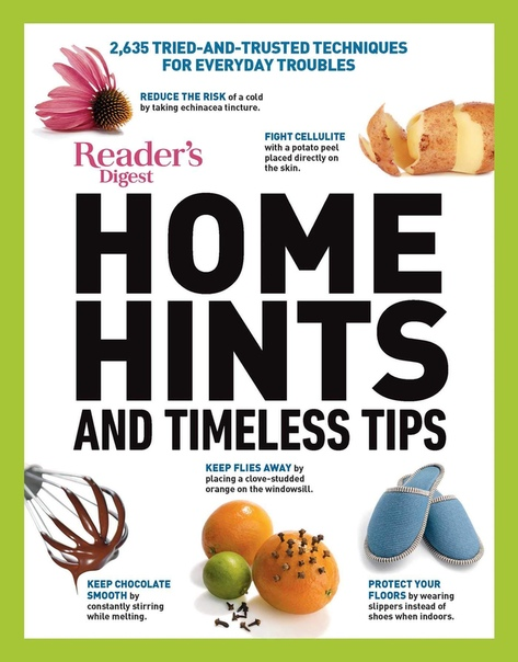 Readers Digest Home Hints & Timeless Tips - Unknown