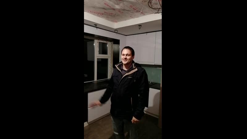 Отзыв заказчика на кухню в частном доме