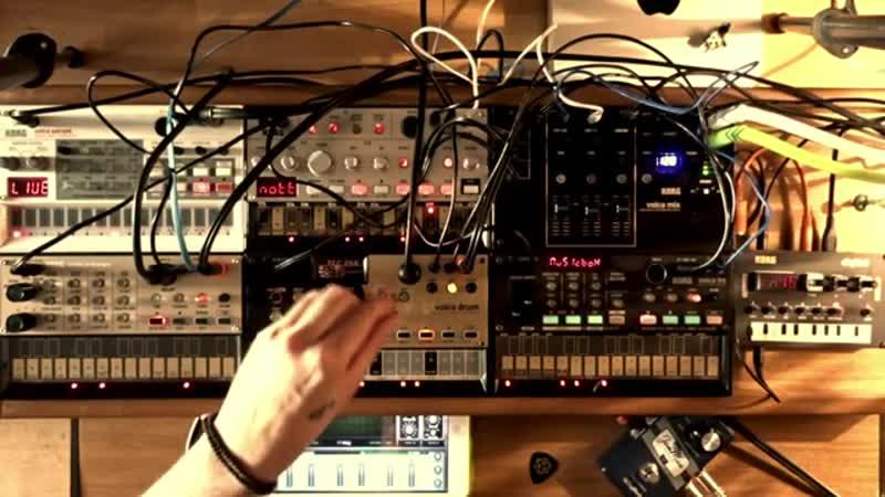 Korg NTS-1 Volca - Space Ambient jam - Stefan Torto