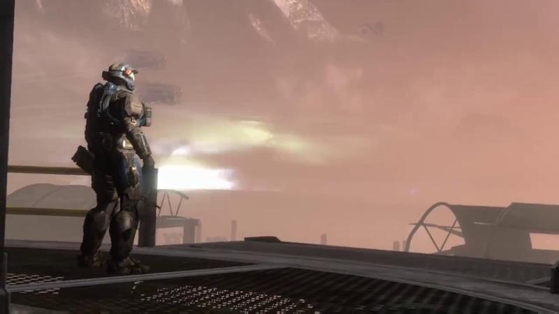 Halo Reach Ending 2 Noble Six Death Scene