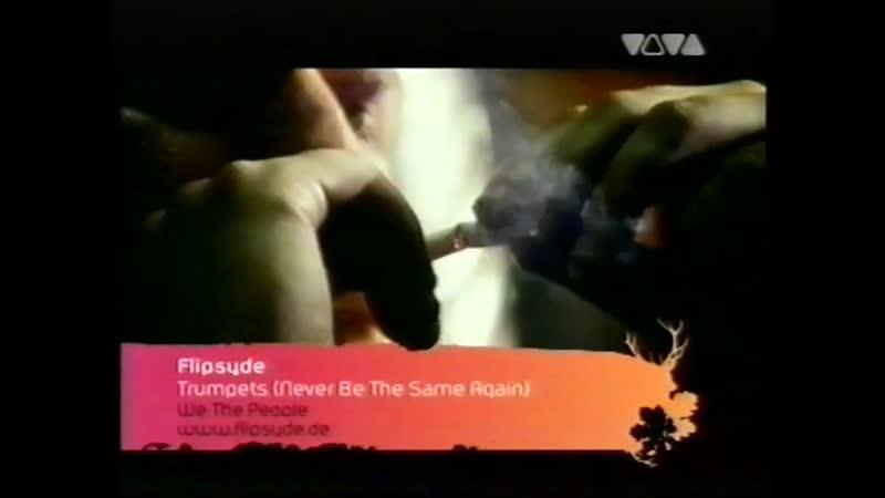 Flipsyde Trumpets Never Be The Same Again VIVA TV