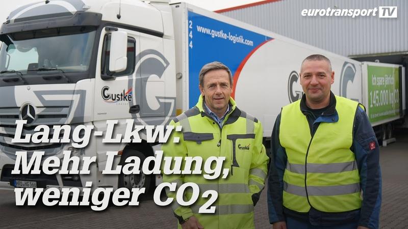 Lang Lkw Mehr Ladung weniger CO2