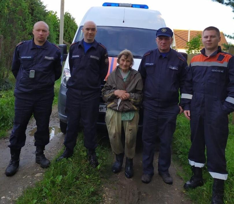 Дубненские спасатели спасли 88-летнюю женщину, заблудившуюся в лесу