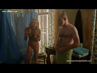 Смешной CMNF-отрывок из фильма  девушку застал голой в душе муж её сестры