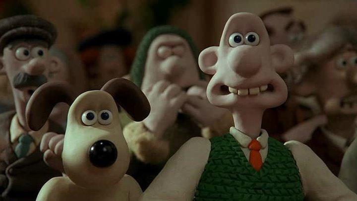 Уоллес и Громит Проклятие кролика оборотня 12 Мультфильм Комедия Семейный Фаетастика