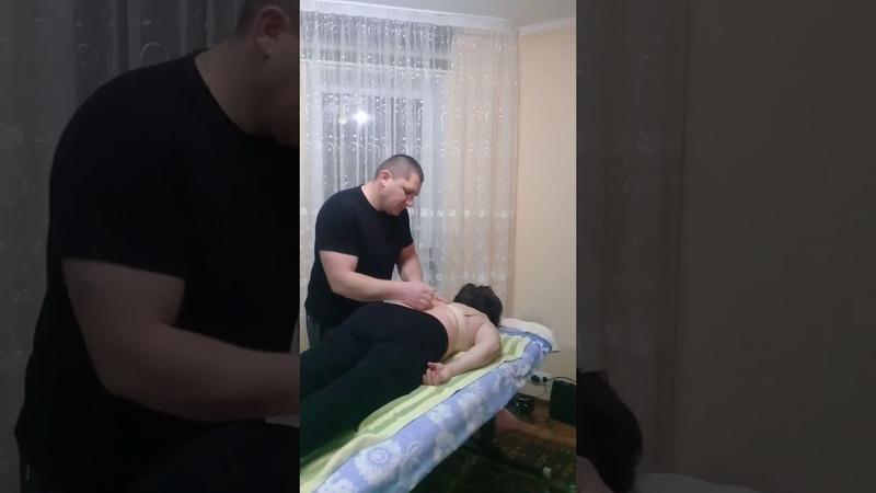 Грыжа в поясничном отделе Костоправ убрал боли за один сеанс Hernia de disc
