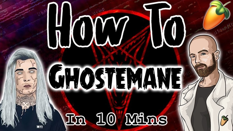 From Scratch A Ghostemane Song in 10 minutes | FL Studio Hard Ambient Trap Tutorial 2018
