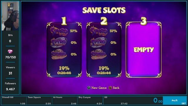Spyro Reignited Trilogy Spyro the Dragon Any NBS Speedrun in 2616 IGT (4752 RTA) [WR] - ChrisLBC on Twitch