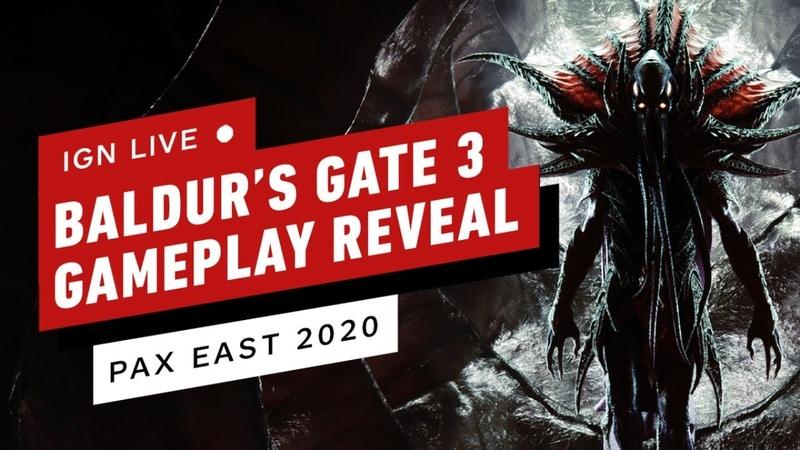 Baldur's Gate 3 Gameplay Reveal - PAX East 2020 Live Stream