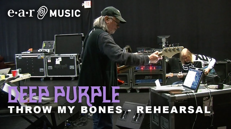 Deep Purple Throw My Bones Live Rehearsal Session New album Whoosh! out 7th August 2020