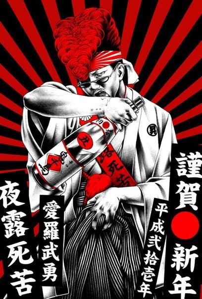 Японский иллюстратор Сехэй Отомо, безусловно, выделяется уже одним лишь стилем своих работ, но всё же главная его фишка кроется не в как, а в чем Ведь когда речь заходит о переносе своих