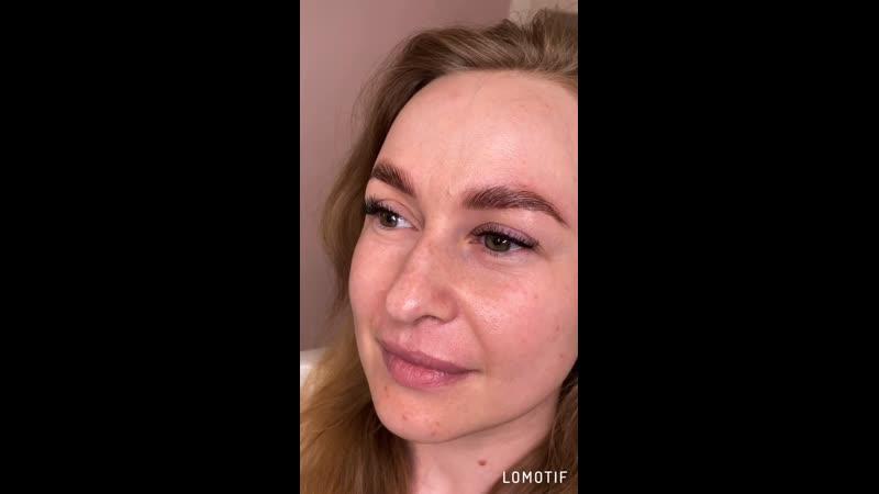 Долговременная укладка бровей @pugacheva brows