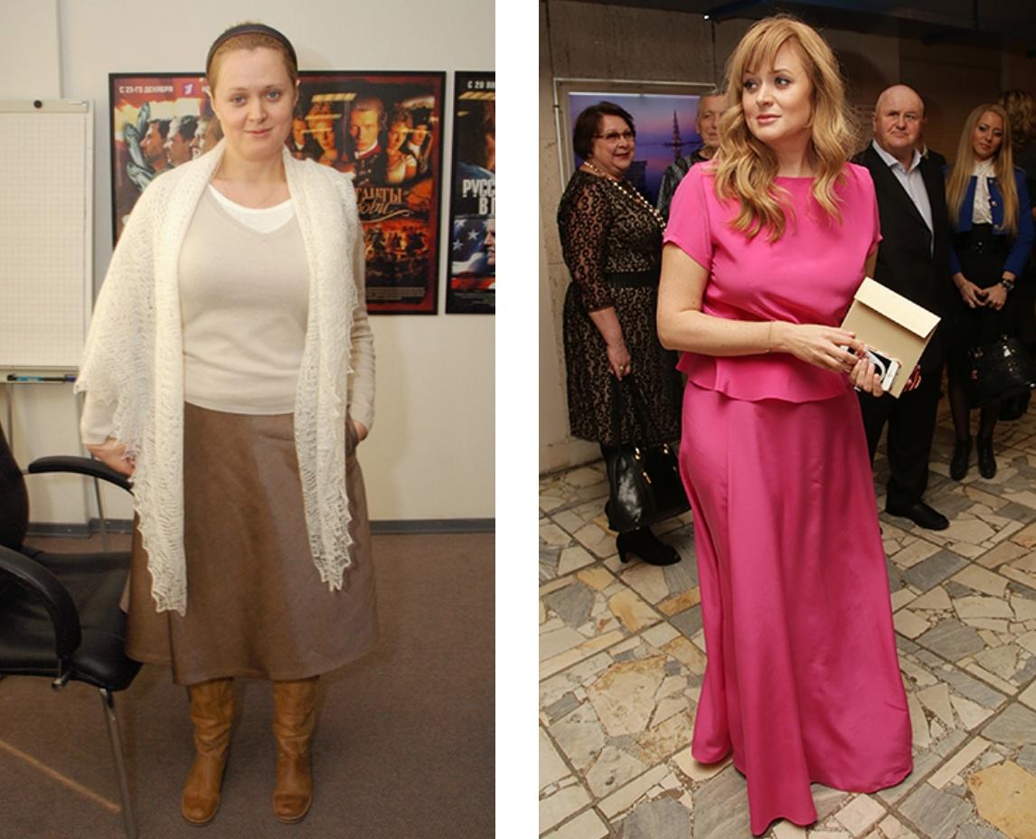 Российские звезды, которые сильно похудели