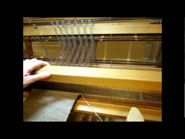 How to Weave on a Loom - Video 17 - Removing Finished Piece From the Loom