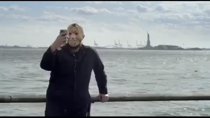 Necro tv Джейсон из Пятницы 13 ое снялся в ролике о необходимости ношения масок