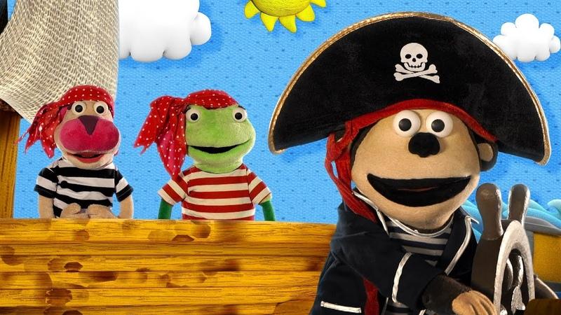 Más episodios del Capitán Pirata Mono Bubba y sus Amigos 2017