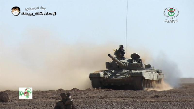 الجزائر تعرف غلى اللواء 41 مدرع أكبر تسكيلة قتالية للجيش الجزائري المرابطة على الحدود الليبية
