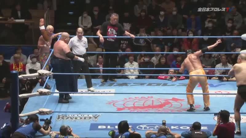 Abdullah Kobayashi Frank Atsushi Great Kojika vs Masanobu Fuchi TAJIRI The Great Sasuke