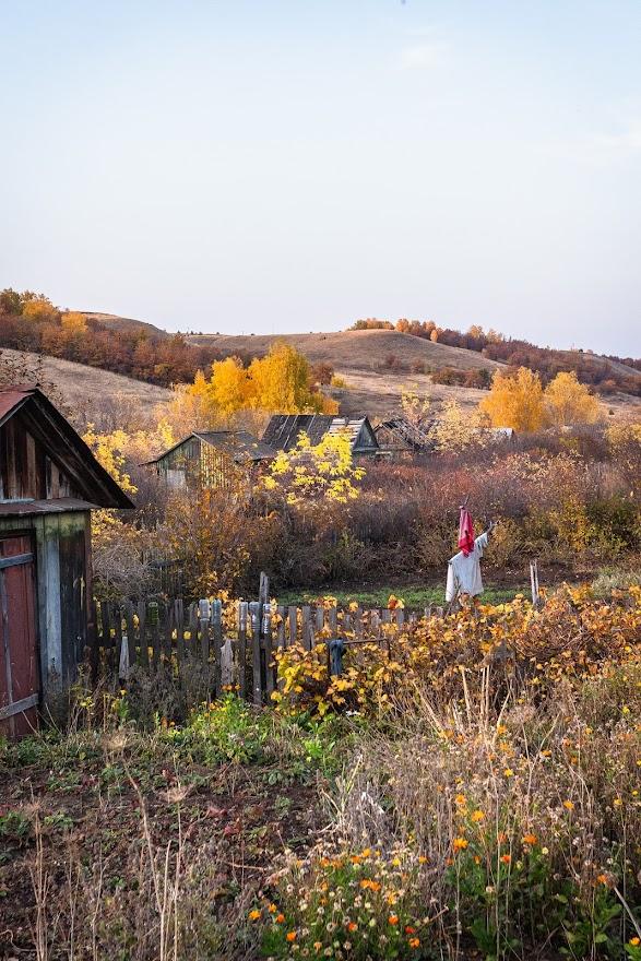Дачная осень  Октябрьский, Башкирия - Фото