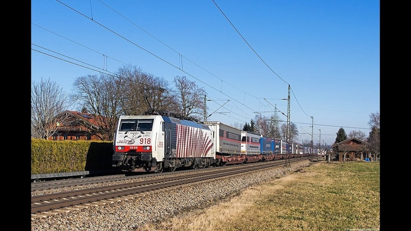 Güterzug-Magistrale Bayern - Österreich, Lokomotion, TX Logistik, RCA uvm. im Inntal Teil 2