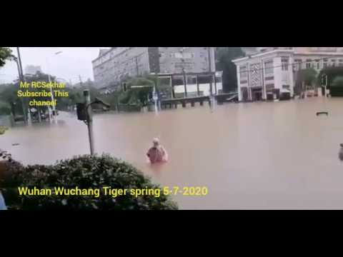 Flash floods in Wuhan CHINA 5 7 2020